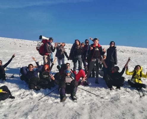 salida invernales grupo montaña venture