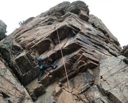 salida escalada grupo de montaña venture