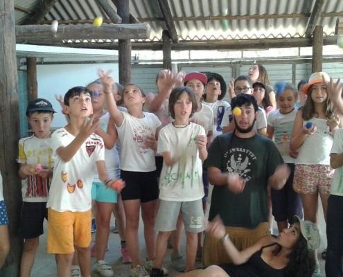 malabares campamento verano venture